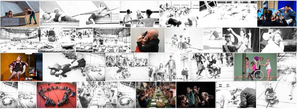 MAD Collage aus Aufführungsfotos