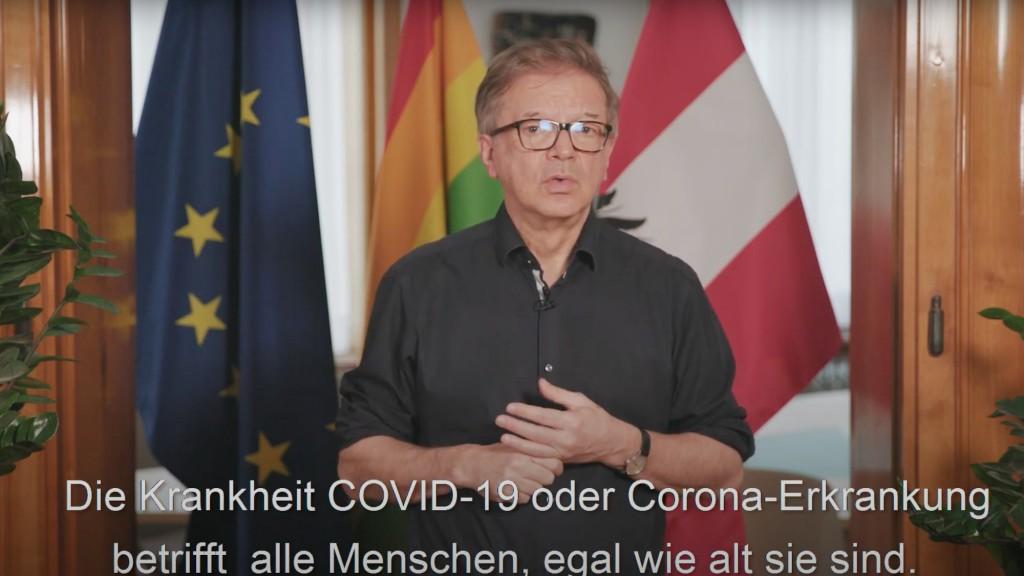 Gesundheitsminister Anschober erklärt COVID