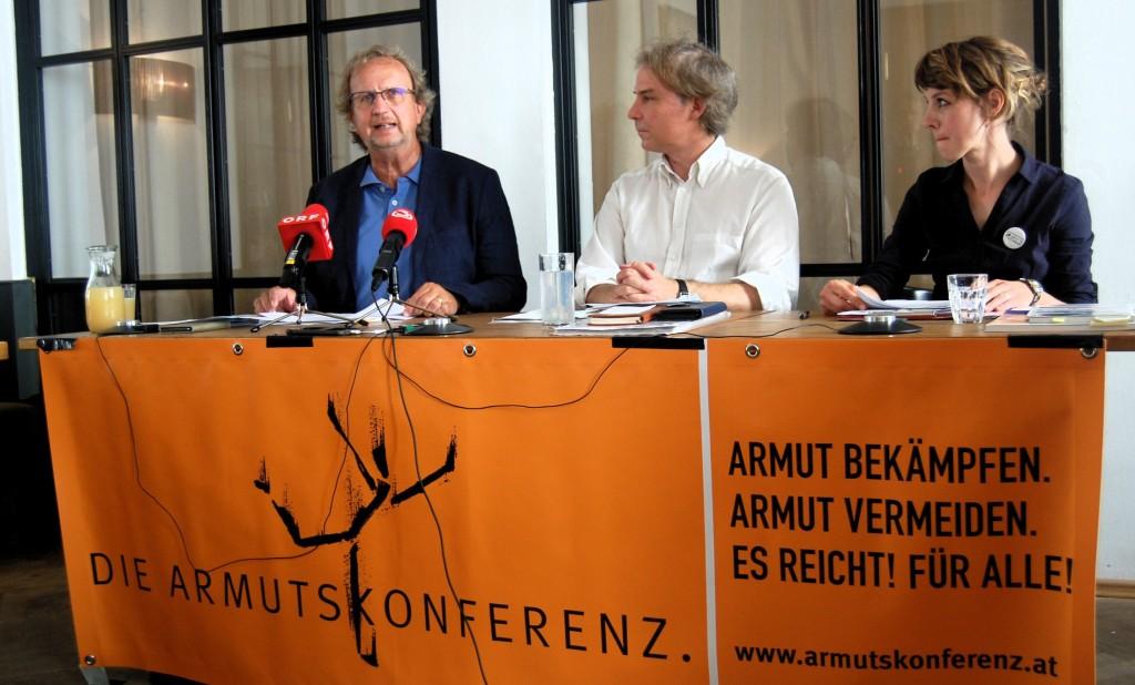 Norbert Krammer, Martin Schenk und Barbara Bühler