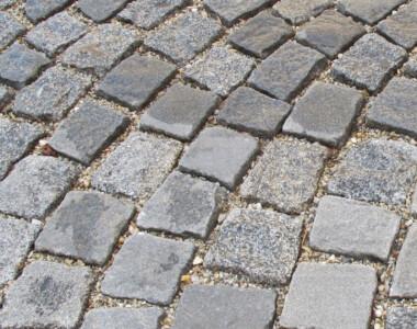 Pflasterung Goldschlagstraße