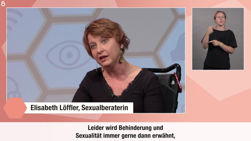 Elisabeth Löffler im Okto-Interview der Sendung Perspektivenwechsel